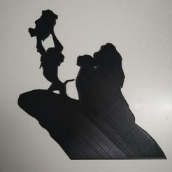Télécharger modèle 3D Roi lion - lion king - Disney 2D, tuningboy