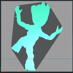 Capture.PNG Télécharger fichier STL Groot - Guardiens de la galaxie - Guardian of galaxy - 2D • Modèle pour imprimante 3D, tuningboy