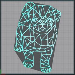 Download 3D printing files dog - dog - 2D, tuningboy