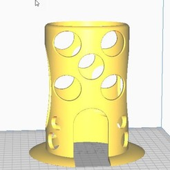 2020-10-09_17-46-54.jpg Download free STL file Aquarium Tower • 3D printable object, GBen