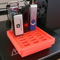 Download free 3D printing designs USB SUPPORT, imprimeur3d