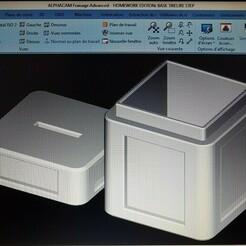 thumbnail_20201222_162832 VERSI 2.jpg Télécharger fichier STL gratuit Tirelire couvercle et boite • Design pour impression 3D, imprimeur3d