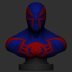 Captura de pantalla 2020-09-21 a las 19.26.05.png Télécharger fichier OBJ Spiderman 2099 • Design à imprimer en 3D, IceWolf11