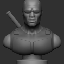 Download 3D printing models Blade Bust, IceWolf11