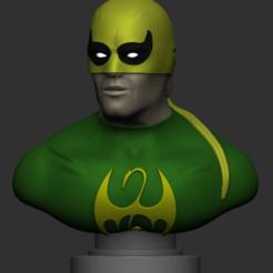 Download 3D printer files Iron Fist Bust, IceWolf11