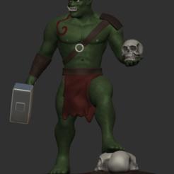 Télécharger plan imprimante 3D Orc, IceWolf11