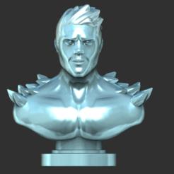 Captura de pantalla 2020-09-21 a las 17.49.52.png Télécharger fichier OBJ Iceman X Men • Design pour imprimante 3D, IceWolf11
