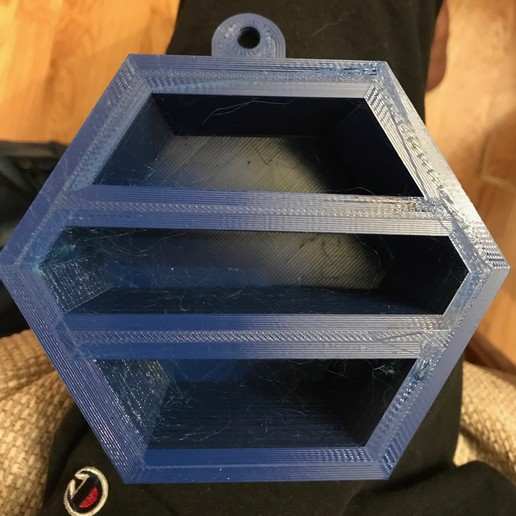 Download free STL file Hanging Bee House • 3D printable design, kevinyuxie