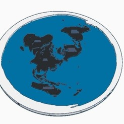 Download 3D printing designs FLAT EARTH, GalacticCreator
