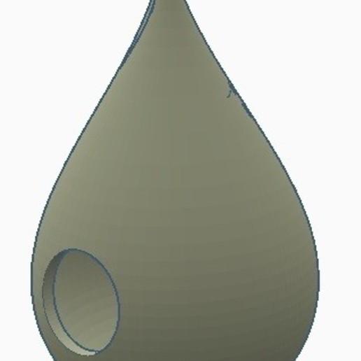 Descargar STL Casa para pájaros Water Drop, GalacticCreator