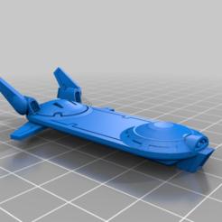 Télécharger fichier STL gratuit Drone spatial communiste à bord d'un hoverboard • Objet imprimable en 3D, buckhedges
