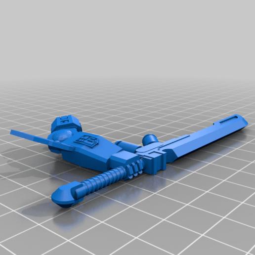 LongSeer_R_Arm___Morning_Sword_.png Télécharger fichier STL gratuit L'épée du matin du Long Seer • Plan imprimable en 3D, buckhedges