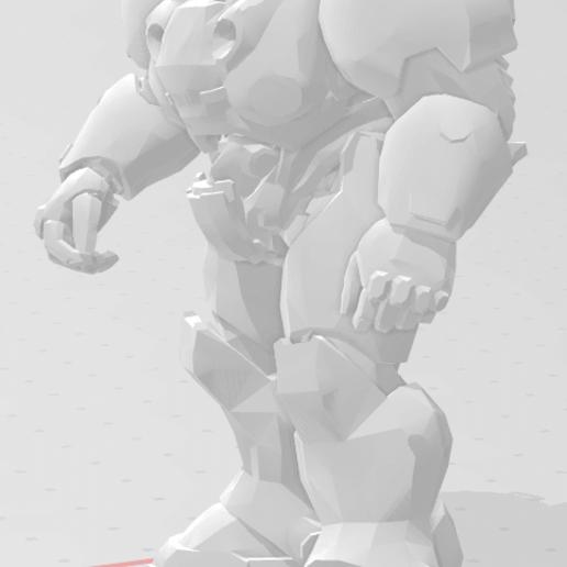 Download free 3D model Panda Marine, buckhedges