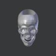 Télécharger fichier impression 3D gratuit ANNEAU CRÂNE BAS POLY, shadersinc