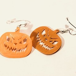 IMG_8953.JPEG Download STL file Halloween Earring • 3D printer template, 3DinFrance