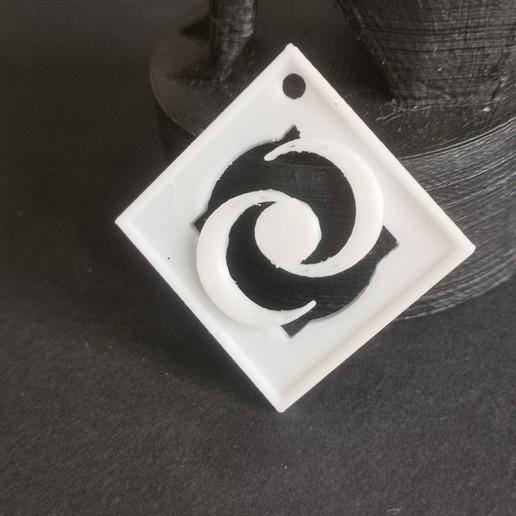 Télécharger fichier STL gratuit Pendentif à 2 lunes • Plan pour imprimante 3D, quenoncona2