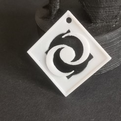 IMG_20200606_194545.jpg Download free STL file 2 moon pendant • 3D printer model, quenoncona2