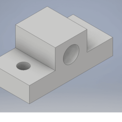 Download free GCODE file linear axis support 8mm , anet e16 • 3D printing design, estebanhermosillap
