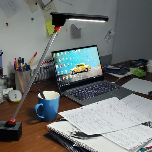 Download free 3D printing files Desktop lamp, raulrrojas