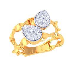 DL-4A.jpg Télécharger fichier STL bague diamant • Modèle imprimable en 3D, eldogery
