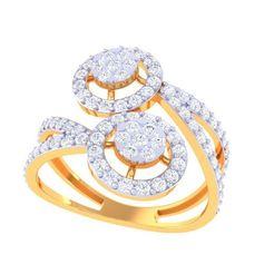 DL-1A.jpg Télécharger fichier STL bague diamant • Modèle imprimable en 3D, eldogery