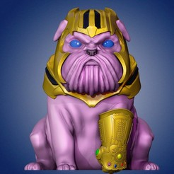 1.jpg Download STL file Thanos Dog • 3D print object, CreationsRC