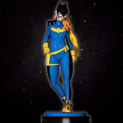 1.jpg Download STL file Batgirl • Design to 3D print, CreationsRC