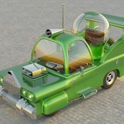 HM1.jpg Download OBJ file Car Homer Simpson 3D • 3D print design, EB-DESIGN-3D