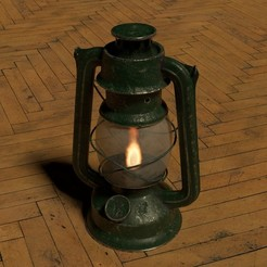 Download 3D printer files Oil Lamp, letitbe-design