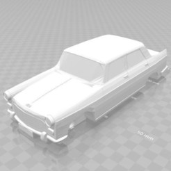 Download 3D printing templates Auto Peugeot 404, letitbe-design