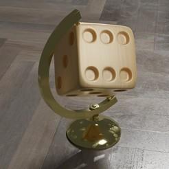 dadomundi1.jpg Download STL file World Map Dado • 3D printer design, EB-DESIGN-3D