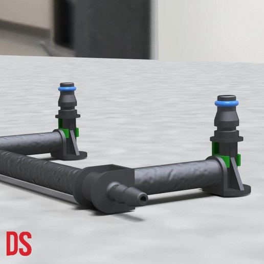 Download free 3D printer designs SMALL SIZED DIESEL INJECTOR NOZZLE(Assembly line parts included)., designstation97