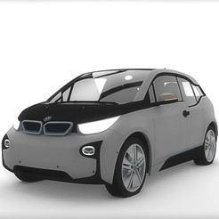 Download free 3D printing files BMW i3, far100px