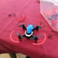 IMG_20200421_183102.jpg Download free STL file EACHINE E61H Mini Drone copriventola • 3D printable design, Torretv8