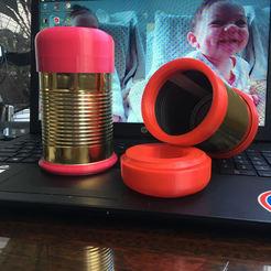 TAPA ROSCA DE LDA.jpg Download STL file SCREW CAP FOR CAN RECYCLING • 3D printer model, jorgesebastiansoper
