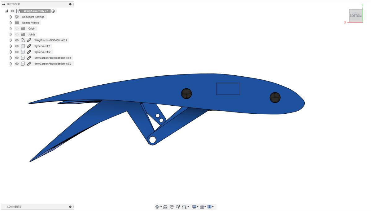 WingRight.png Télécharger fichier STL gratuit Module HF3D : Plan imprimé 3D • Modèle pour imprimante 3D, FurEter