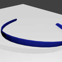 vinchaazul.png Download free STL file headband • 3D printing design, nicogalvan