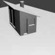 casita.png Download free OBJ file little house • Template to 3D print, nicogalvan