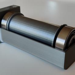 Pic1.PNG Download free STL file Ender 3/3 pro slide on spool holder • 3D printing object, FibulaFreddie