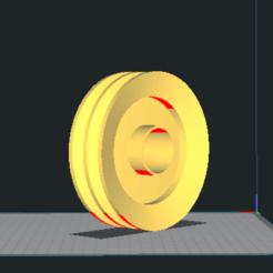 Descargar archivo 3D gratis  pulley / Polea conductoa, Mihael