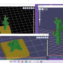 Download free 3D printing designs Cactus Fruiting, kylekotyk