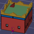 Desert House Picture .png Télécharger fichier STL gratuit Maison du Désert • Objet imprimable en 3D, kylekotyk