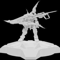 1.png Download STL file Gundam Astray Red 2 • 3D printer model, Arjun_Stark