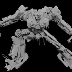 Télécharger plan imprimante 3D Mégatron, Arjun_Stark