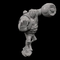 1.png Download STL file Luffy • 3D printable object, Arjun_Stark