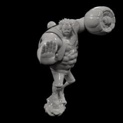 1.png Télécharger fichier STL Luffy • Design imprimable en 3D, Arjun_Stark
