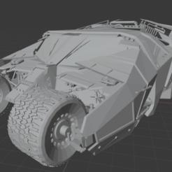 Picture1.png Download STL file Batmobile Tumbler • Template to 3D print, Arjun_Stark