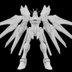 1.png Download STL file Strike freedom gundam • Model to 3D print, Arjun_Stark