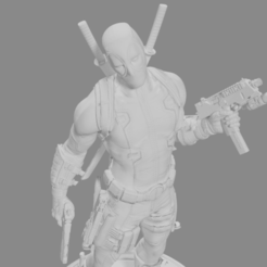 Descargar modelo 3D Deadpool, Arjun_Stark
