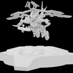 1.png Download STL file Gundam Astray Red 4 • 3D printable model, Arjun_Stark